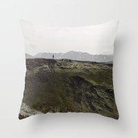 ICELAND VII Throw Pillow
