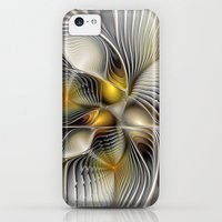 iPhone 5c Cases featuring Tunnel Vision, Abstract Fractal Art by gabiw Art