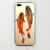 Kolors Koi iPhone & iPod Skin