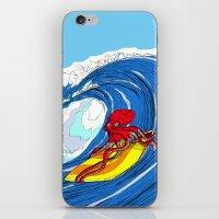 octosurfer iPhone & iPod Skin