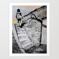 Going Home Art Print