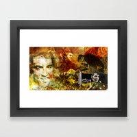 Elvis Presley - Vintage … Framed Art Print