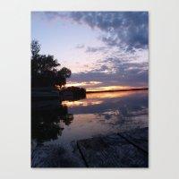 Lake Effect Canvas Print