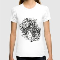 live laugh love Womens Fitted Tee White SMALL
