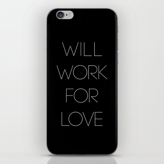 i will. iPhone & iPod Skin