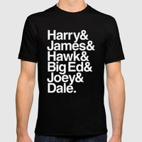 The Bookhouse Boys (Black Lodge) Mens Fitted Tee Black SMALL