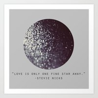 One Fine Star Art Print