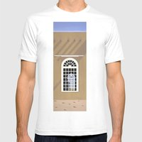 Rancho De Taos Mens Fitted Tee White SMALL