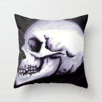 Bones III Throw Pillow