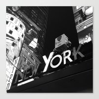 New York Police Department Canvas Print