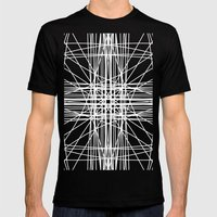 Linear Oceanblast Mens Fitted Tee Black SMALL