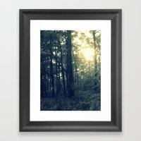 Dual Nature Framed Art Print