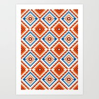 Navajo Five Art Print