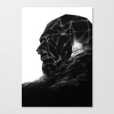 Dune head Canvas Print