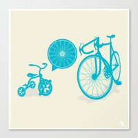SPOKE Canvas Print