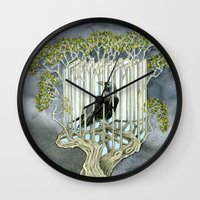 Wicked nature Wall Clock