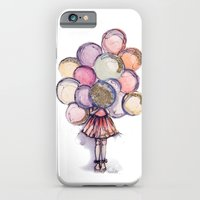 Float Away // Fashion Illustration iPhone 6 Slim Case