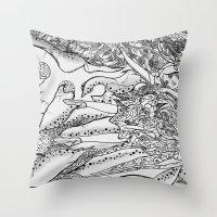 Secret Garden / Original… Throw Pillow