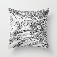 Secret Garden / Original… Throw Pillow