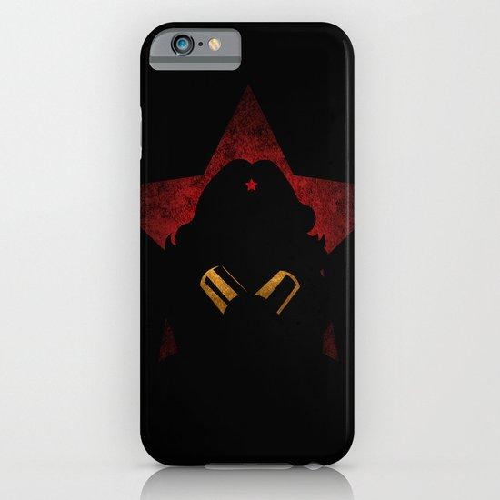 SuperHeroes Shadows : WonderWoman iPhone & iPod Case