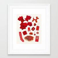 RED II Framed Art Print