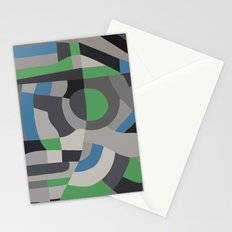 Hacienda Green Stationery Cards
