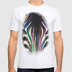 Zebra Mens Fitted Tee Ash Grey SMALL