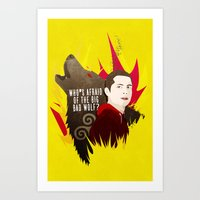 Sterek: Who's Afraid Of … Art Print