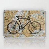 Bike Ride In New York Ci… Laptop & iPad Skin