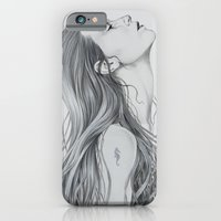 mermaid iPhone & iPod Cases featuring Mermaid by Diego Fernandez