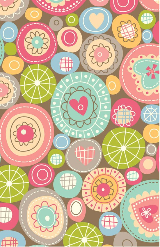 Fun Circles Art Print
