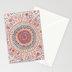 Sunflower Mandala Stationery Cards