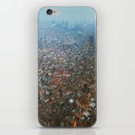 Istanbul At Night .View … iPhone & iPod Skin