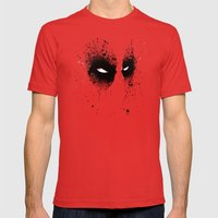 DeadMouth Mens Fitted Tee Red SMALL