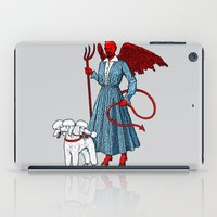 Devil With A Blue Dress On iPad Case