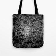 Paris Map #2 Tote Bag
