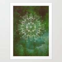 Jungle Mandala Art Print