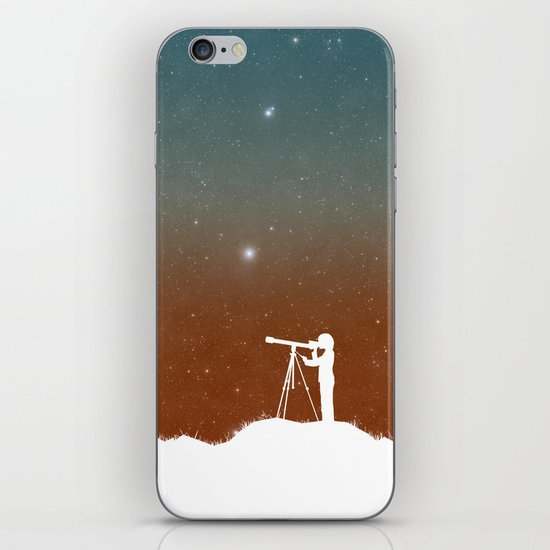 Through the Telescope iPhone & iPod Skin