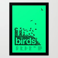 The Birds Art Print