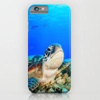 UNDER THE SEA - TURTLE iPhone 6 Slim Case