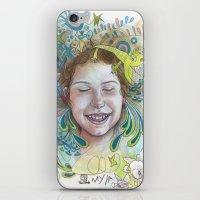 Giggle iPhone & iPod Skin