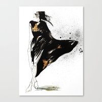 Ebony Canvas Print