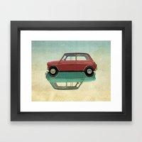 mini ying and yang Framed Art Print