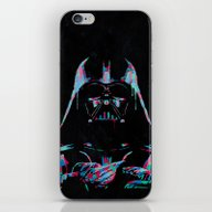 Neon Vader iPhone & iPod Skin