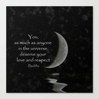 You, As Much As Anyone..… Canvas Print
