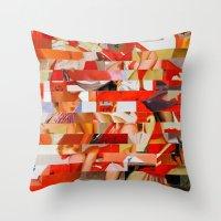 Sanrio Mustang Ranch (Pr… Throw Pillow