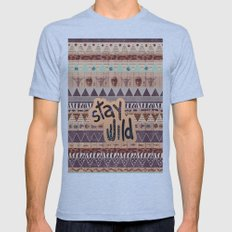 GIPSY SPELL  Mens Fitted Tee Tri-Blue SMALL