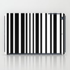 Black and White Lines iPad Case
