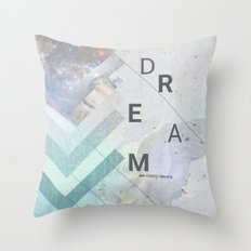 DREAM on many levels Throw Pillow