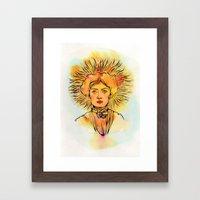 Leo (Zodiac series) Framed Art Print